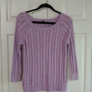American eagle open knit sweater Size XS